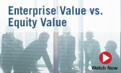 Entreprise Value vs. Equity Value