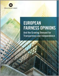 European Fairness Opinions