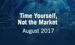 Time Yourself, Not the Market