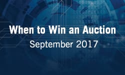 When to Win an Auction