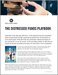 The Distressed Funds Playbook