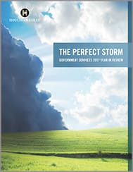 The Perfect Storm | Government Services 2017 Year in Review
