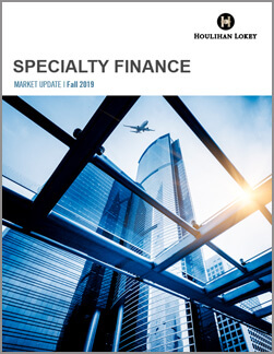 Specialty Finance Market Update – Fall 2019