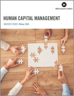 Human Capital Management Industry Update – Winter 2020