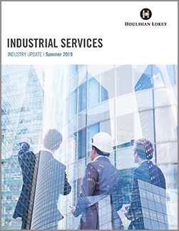 Industrial Services Industry Update – Summer 2019