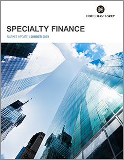 Specialty Finance Summer 2019 Market Update