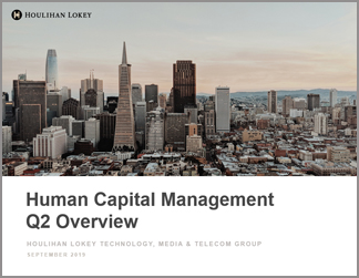 Human Capital Management Industry Updates | Q2 2019