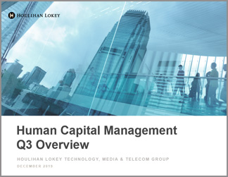 Human Capital Management Industry Updates | Q3 2019