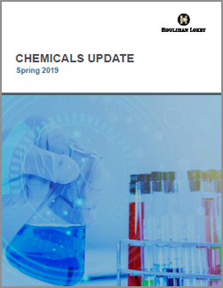 Chemicals Update – Spring 2019