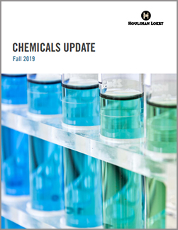 Chemicals Update – Fall 2019