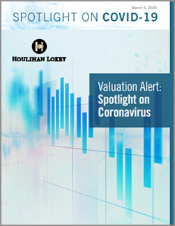 COVID-19 Impact on Valuation