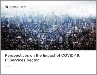 Perspectives on the Impact of COVID-19: IT Services Sector