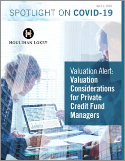 Valuation Considerations for Private Credit Fund Managers