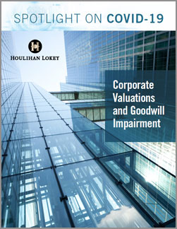 The Impact of COVID-19 on Corporate Valuations and Goodwill Impairment