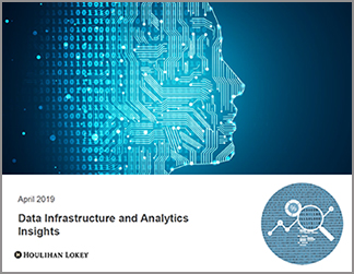 Data Infrastructure & Analytics Insights | April 2019