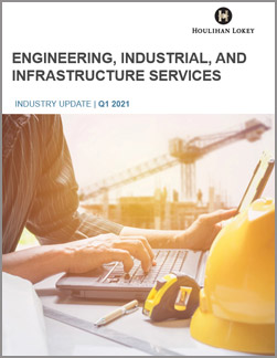 Engineering, Industrial, and Infrastructure Services – Q1 2021
