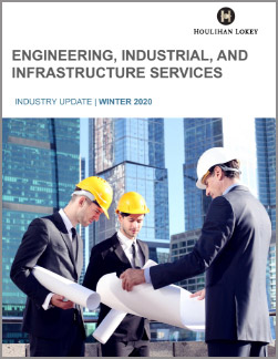 Engineering, Industrial, and Infrastructure Services – Winter 2020