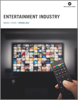 Entertainment Industry Market Update – Spring 2020