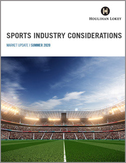 Sports Industry Considerations – Summer 2020