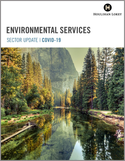Environmental Services Sector Update – COVID-19