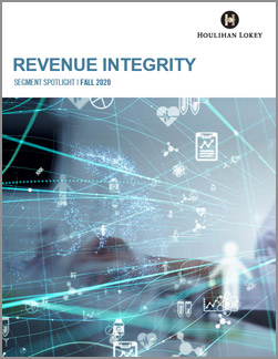 Revenue Integrity Segment Spotlight – Fall 2020