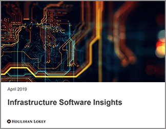 Infrastructure Software Insights | April 2019