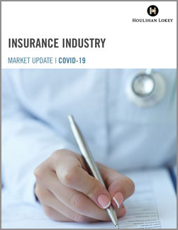 Insurance Industry Market Update  –  COVID-19