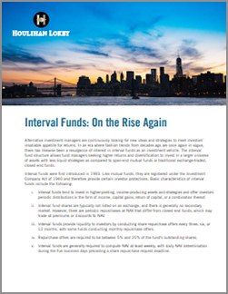Interval Funds: On the Rise Again