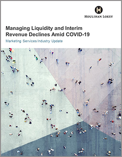 Managing Liquidity and Interim Revenue Declines Amid COVID-19