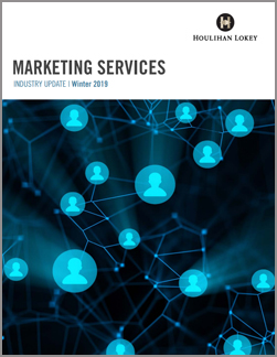 Marketing Services Industry Update Winter 2019