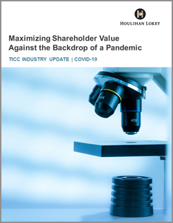 Maximizing Shareholder Value Against the Backdrop of a Pandemic