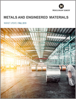 Metals and Engineered Materials - 2019 Fall Market Update