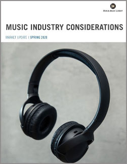 Music Industry Market Update – Spring 2020