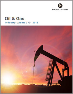 Oil & Gas Industry Update – Q1 2019
