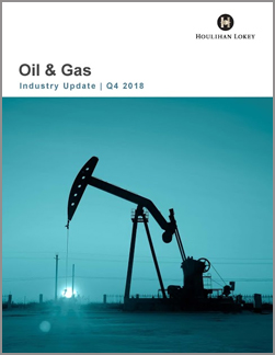 Oil & Gas Industry Update – Q4 2018