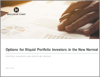 Options for Illiquid Portfolio Investors in the New Normal