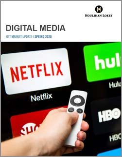 Digital Media OTT Market Update – Spring 2020