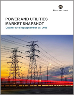 Power and Utilities Market Snapshot | Q3 2018