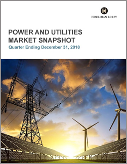 Power and Utilities Market Snapshot | Q4 2018