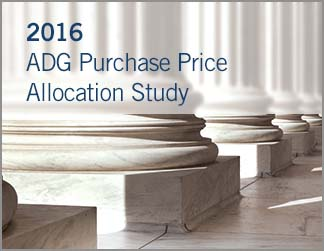 2016 ADG Purchase Price Allocation Study
