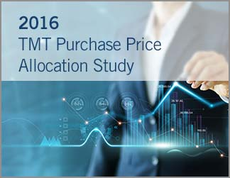 2016 Technology•Media•Telecom (TMT) Purchase Price Allocation Study
