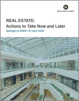 Real Estate: Actions to Take Now and Later – COVID-19