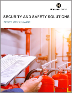 Security and Safety Solutions Industry Update – Fall 2020