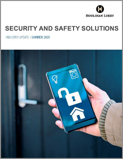 Security and Safety Solutions Industry Update –.Summer 2020