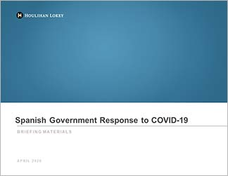 Spanish Government Crisis Funding Initiatives