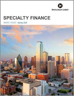 Specialty Finance Market Update – Spring-2020
