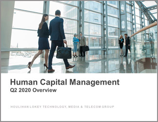 Human Capital Management Industry Updates | Q2 2020 Overview