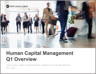 Human Capital Management Overview | Q1 2019