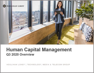 Human Capital Management Industry Updates | Q3 2020 Overview