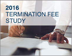 2016 Transaction Termination Fee Study
